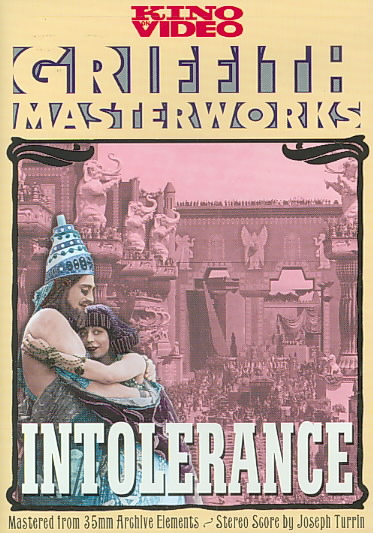 INTOLERANCE BY GISH,LILLIAN (DVD)